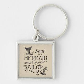 Soul einer Meerjungfrau, Mund eines Seemanns Schlüsselanhänger