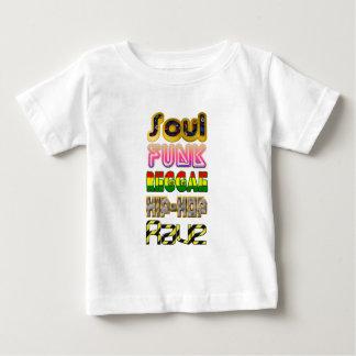 Soul, Funk, Reggae, Angesagt-Hopfen, Rave Baby T-shirt