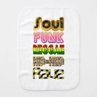 Soul, Funk, Reggae, Angesagt-Hopfen, Rave Spucktuch