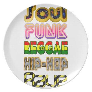 Soul, Funk, Reggae, Angesagt-Hopfen, Rave Teller
