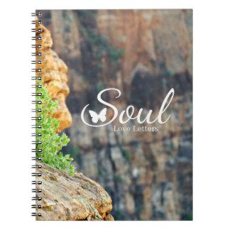 Soul-Liebe beschriftet Zeitschrift Zion Ausgabe Notizblock
