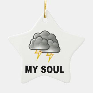 Soul meine Stürme Keramik Stern-Ornament