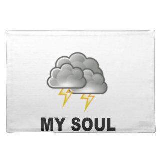 Soul meine Stürme Tischset