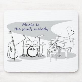 Soul-Musik Mauspad