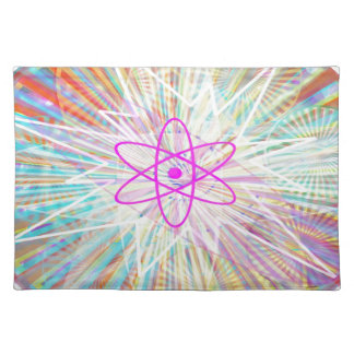 Soul-Power: Sonnenenergie-künstlerischer Entwurf Tischset