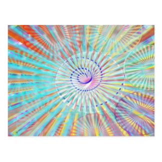Soul-Power - Sonnenenergie Postkarte