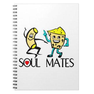 Soul verbindet beste Freunde Notizblock