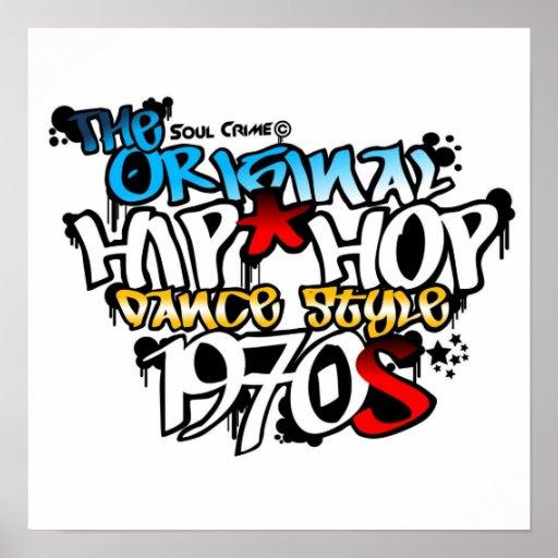 Soul-Verbrechen - die ursprüngliche angesagte Hopf Poster