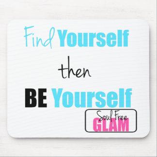 SoulFreeGlam Motivation-Entdeckung sich Mousepad