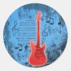 Sound of Music Runder Aufkleber