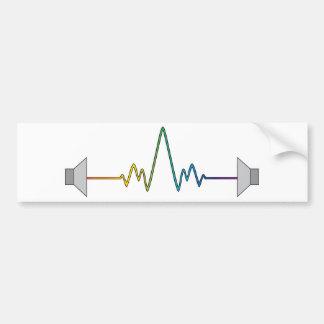 Soundwave Autoaufkleber