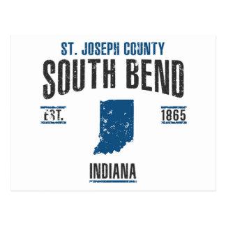 South Bend Postkarte