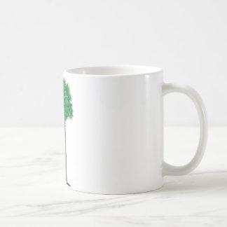 South Carolina grüner Palmettobaum und -halbmond Kaffeetasse