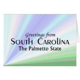South Carolina Karte