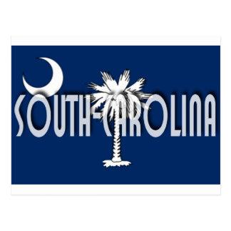 South Carolina Postkarte