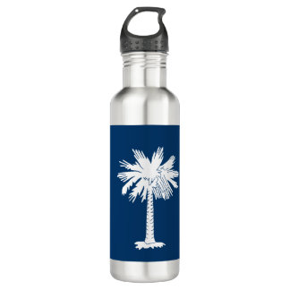 South- Carolinaflagge Trinkflasche