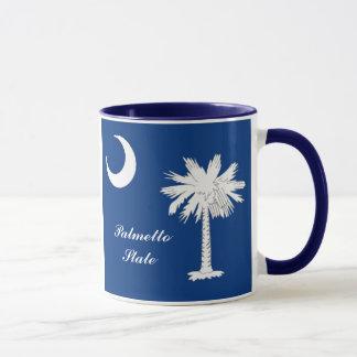 South- Carolinaflaggen-Tasse Tasse