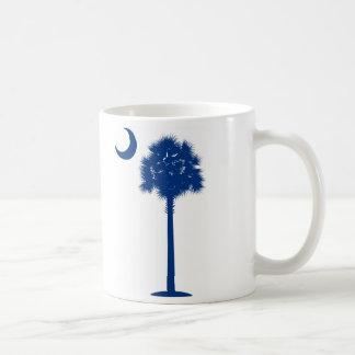 South CarolinaPalmettobaum und -halbmond Kaffeetasse