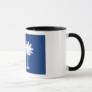 South- CarolinaStaats-Flagge Tasse