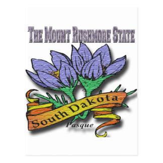 South Dakota der Mount Rushmore Pasque Postkarte
