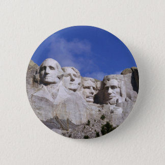 SOUTH DAKOTA - DER MOUNT RUSHMORE RUNDER BUTTON 5,7 CM