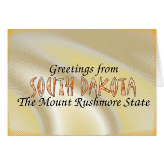 South Dakota Karte