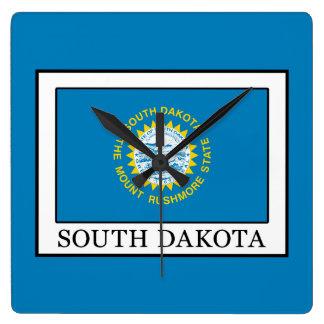 South Dakota Quadratische Wanduhr