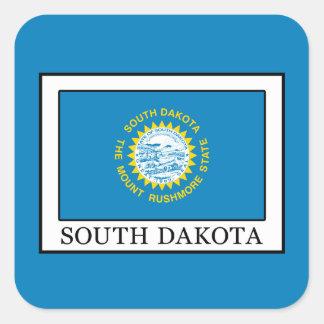 South Dakota Quadratischer Aufkleber