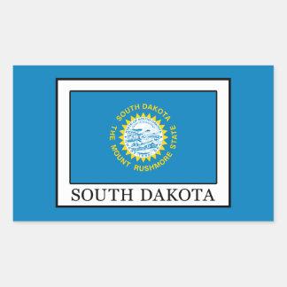 South Dakota Rechteckiger Aufkleber