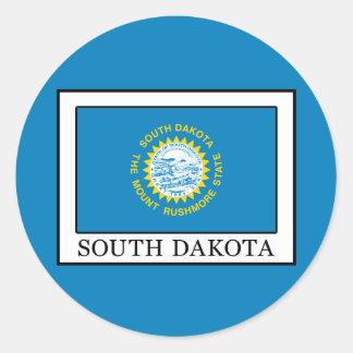 South Dakota Runder Aufkleber