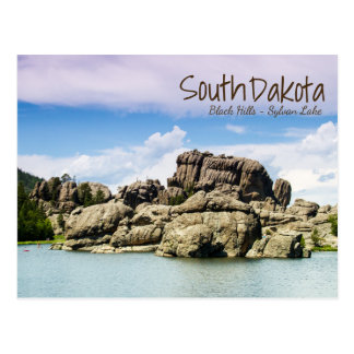 South Dakota Seesylvan-Postkarte Postkarte