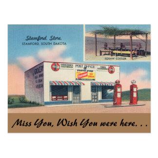 South Dakota, Stamford-Speicher, Stamford Postkarte