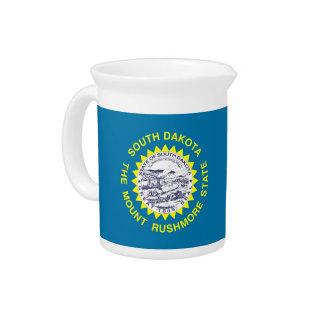 South- DakotaStaats-Flaggen-Krug Getränke Pitcher