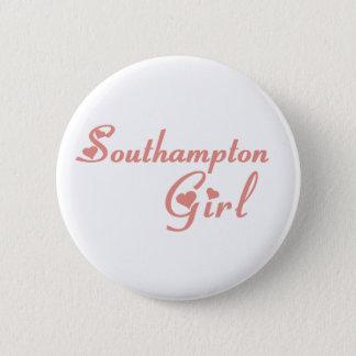 Southampton-Mädchen Runder Button 5,1 Cm