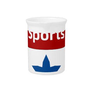 Southbound Sport-Wappen-Logo Getränke Pitcher