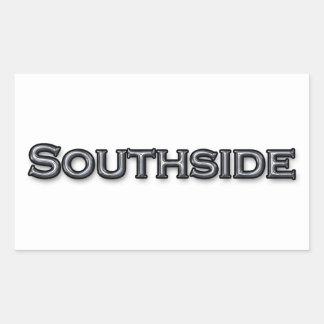 Southside Virginia Rechteckiger Aufkleber