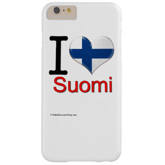 Souvenirs from Suomi Barely There iPhone 6 Plus Hülle