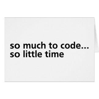 Soviel zum Code… Karte