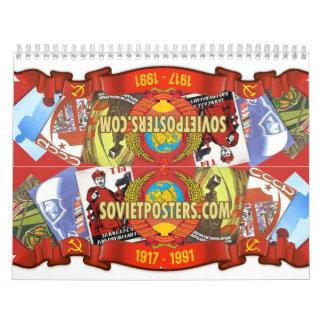 Sowjetische Plakate Kalender