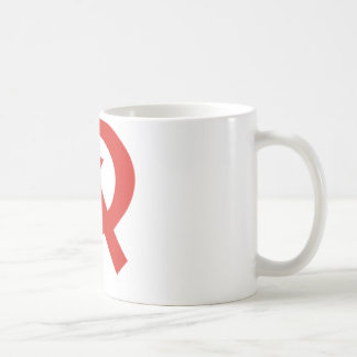 Sowjetischer Hammer und Sichelentwurf Kaffeetasse
