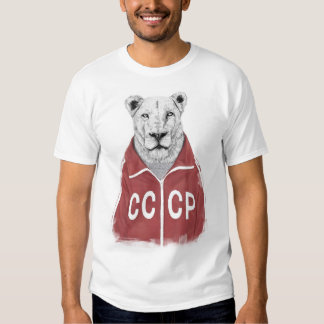 Sowjetischer Löwe Tshirt