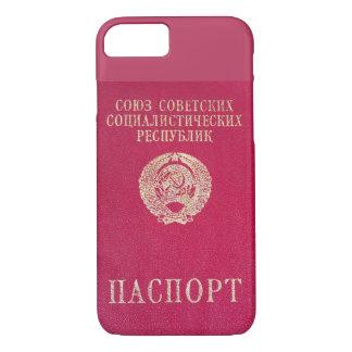 Sowjetischer Pass iPhone 8/7 Hülle