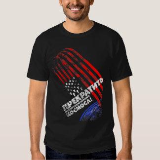 Sowjetisches kalter Kriegs-Plakat Shirts