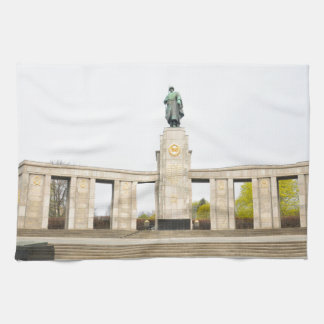 Sowjetisches Kriegs-Denkmal in Berlin, Deutschland Geschirrtuch