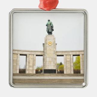 Sowjetisches Kriegs-Denkmal in Berlin, Deutschland Silbernes Ornament