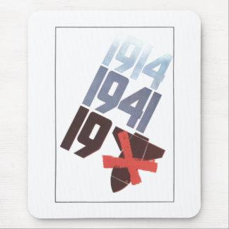 Sowjetisches Plakat Mousepads