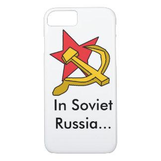 Sowjetrussland iPhone 8/7 Hülle