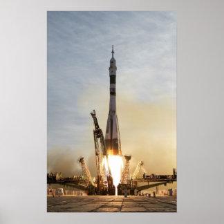 Soyuz TMA-5 Produkteinführung Plakat-Raumschiff