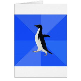 Sozial--Ungeschickt-Pinguin-Meme Karten