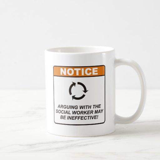 Sozialarbeiter/argumentieren Teetasse